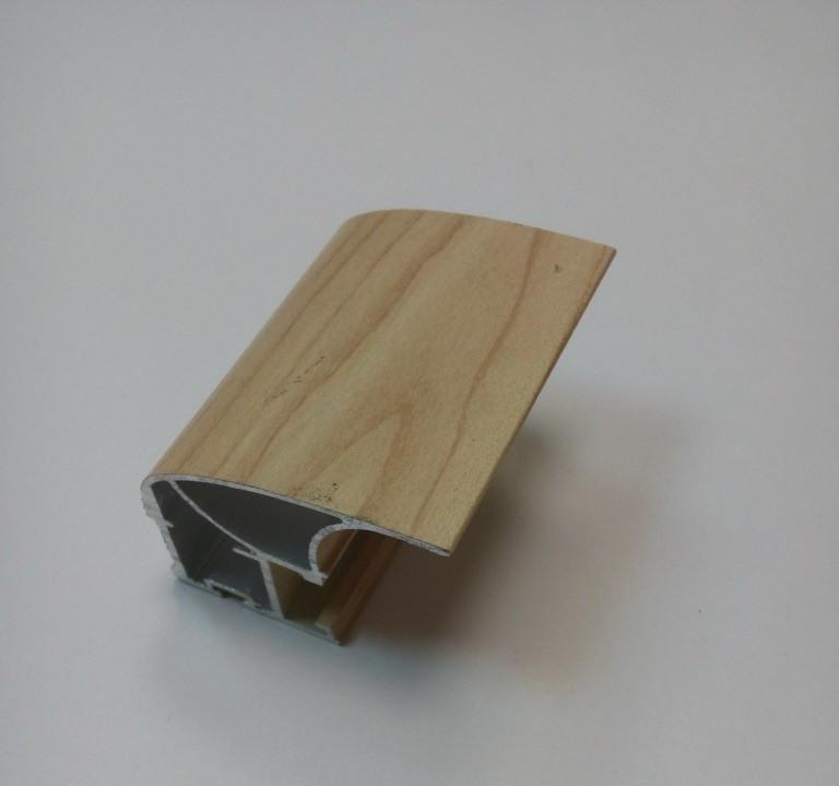 АФ Профиль вертикальный люкс, дуб молочный, 5400мм