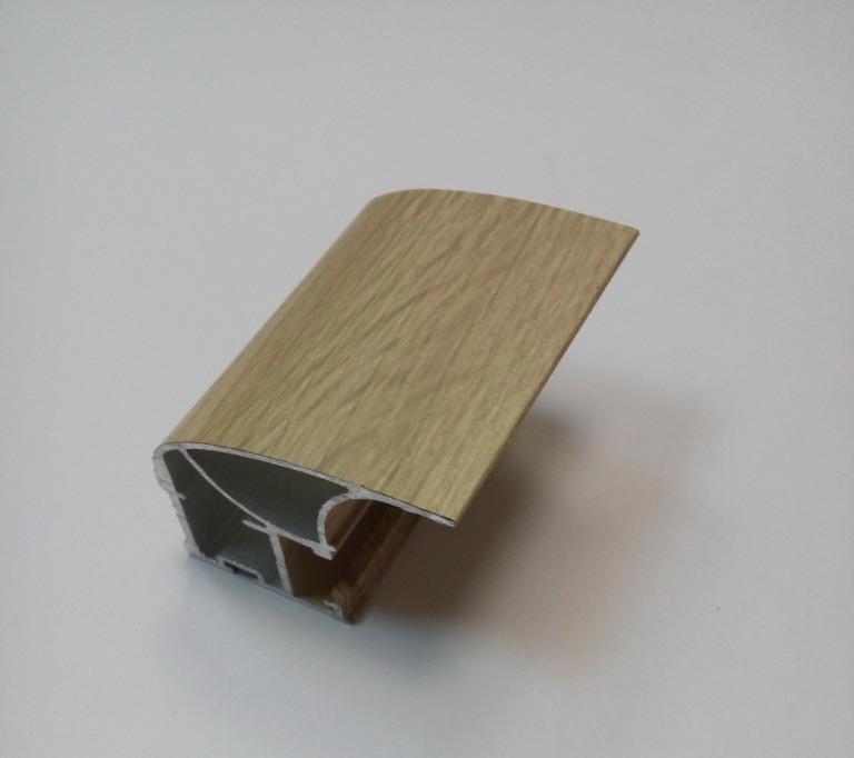 АФ Профиль вертикальный люкс, дуб сонома, 5400мм
