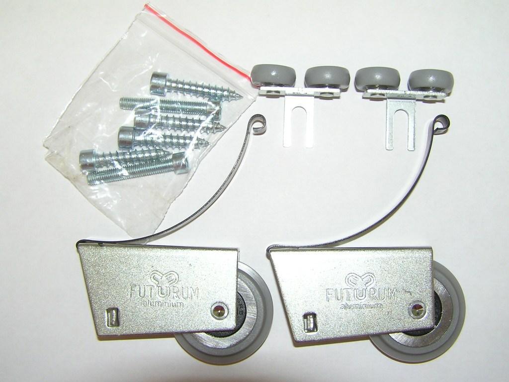 АФ Комплект роликов Futurum AL симм (закр) F608-11S 2+2+винты