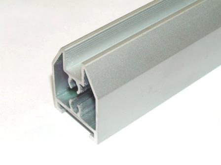 AIR  Горизонтальный верхний профиль, серебро, 6000мм