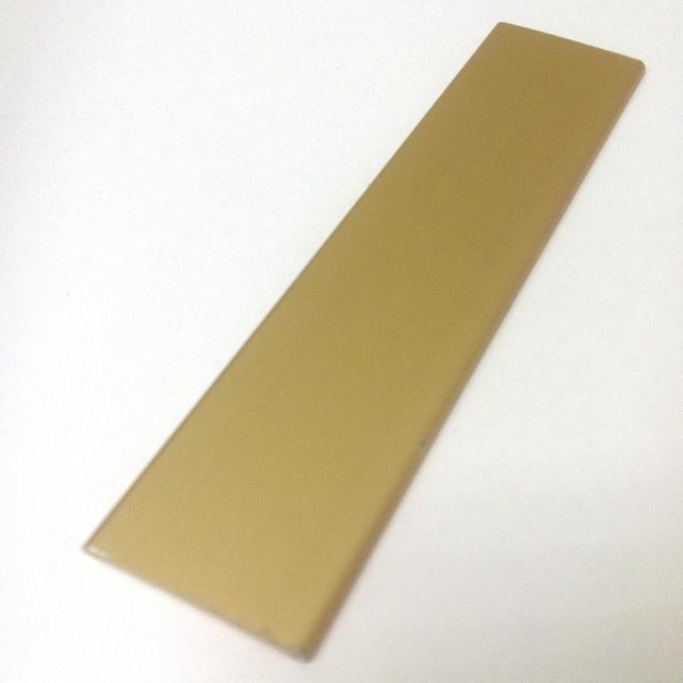 АФ Профиль соединительный накладной, золото белое, 6000мм