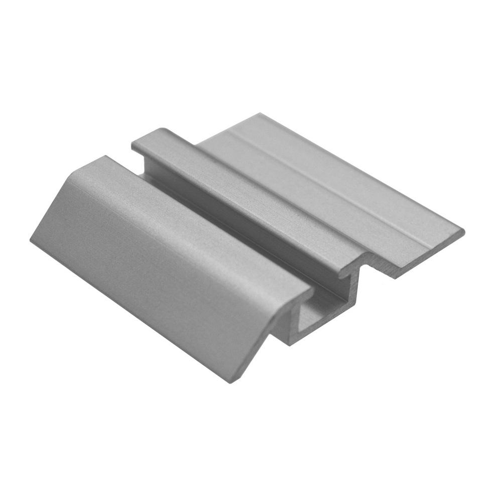 АФ Рельс одинарный нижний 140, серебро, 6000мм