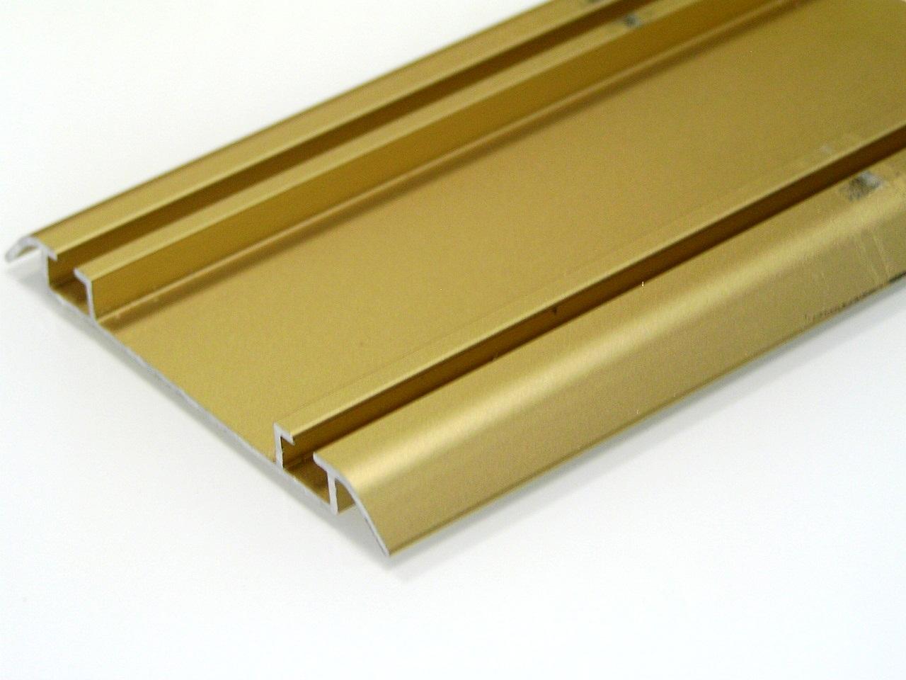АФ Рельс двойной нижний 250, золото белое, 6000мм