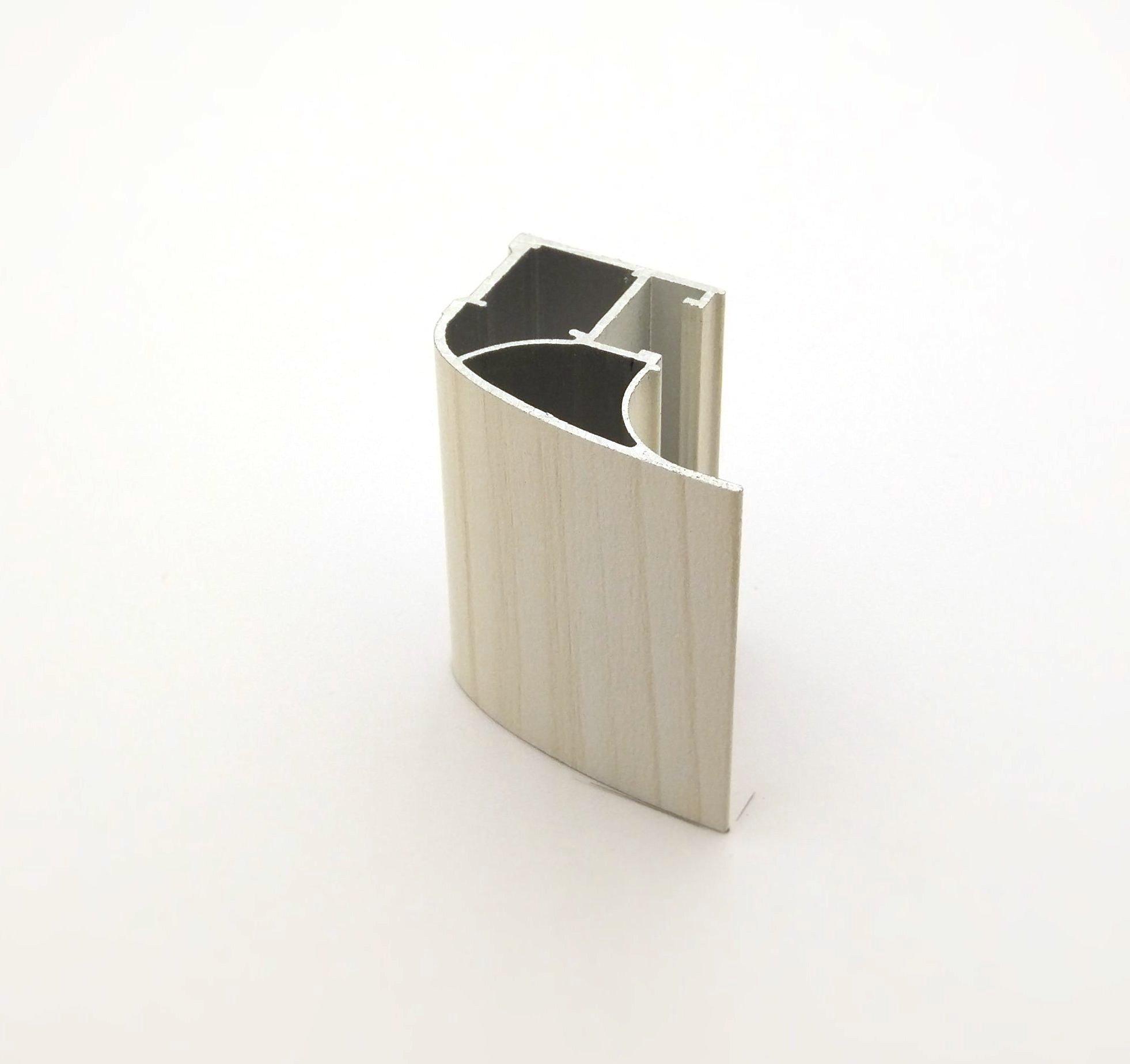 АФ Профиль вертикальный люкс 454, береза, 5400мм