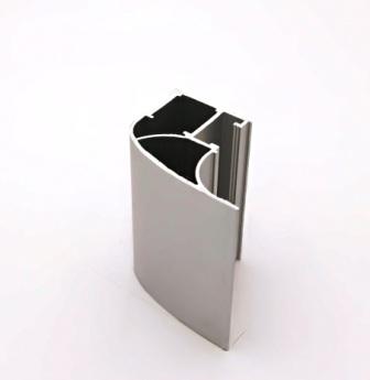 АФ Профиль вертикальный люкс 454, серебро, 5400мм