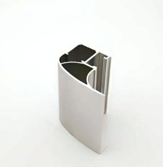 АФ Профиль вертикальный люкс 454, BRUSH серебро, 5400мм