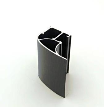 АФ Профиль вертикальный люкс 454, венге глянец, 5400мм