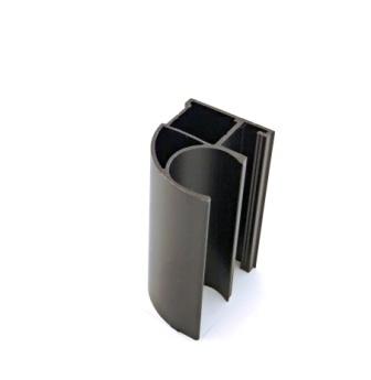 АФ Профиль вертикальный открытый MEDIUM, бронза, 5400мм