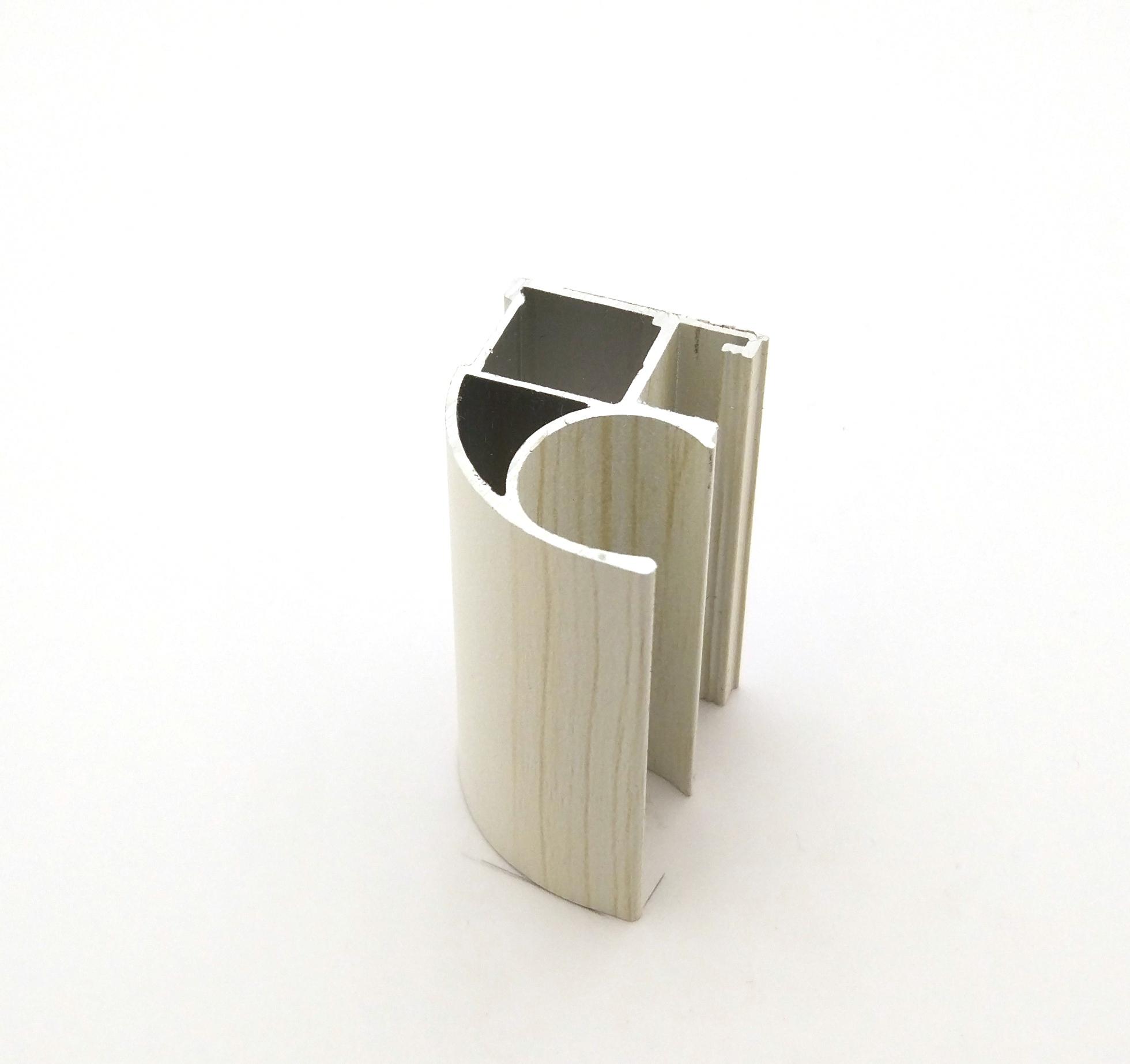 АФ Профиль вертикальный открытый MEDIUM, береза, 5400мм