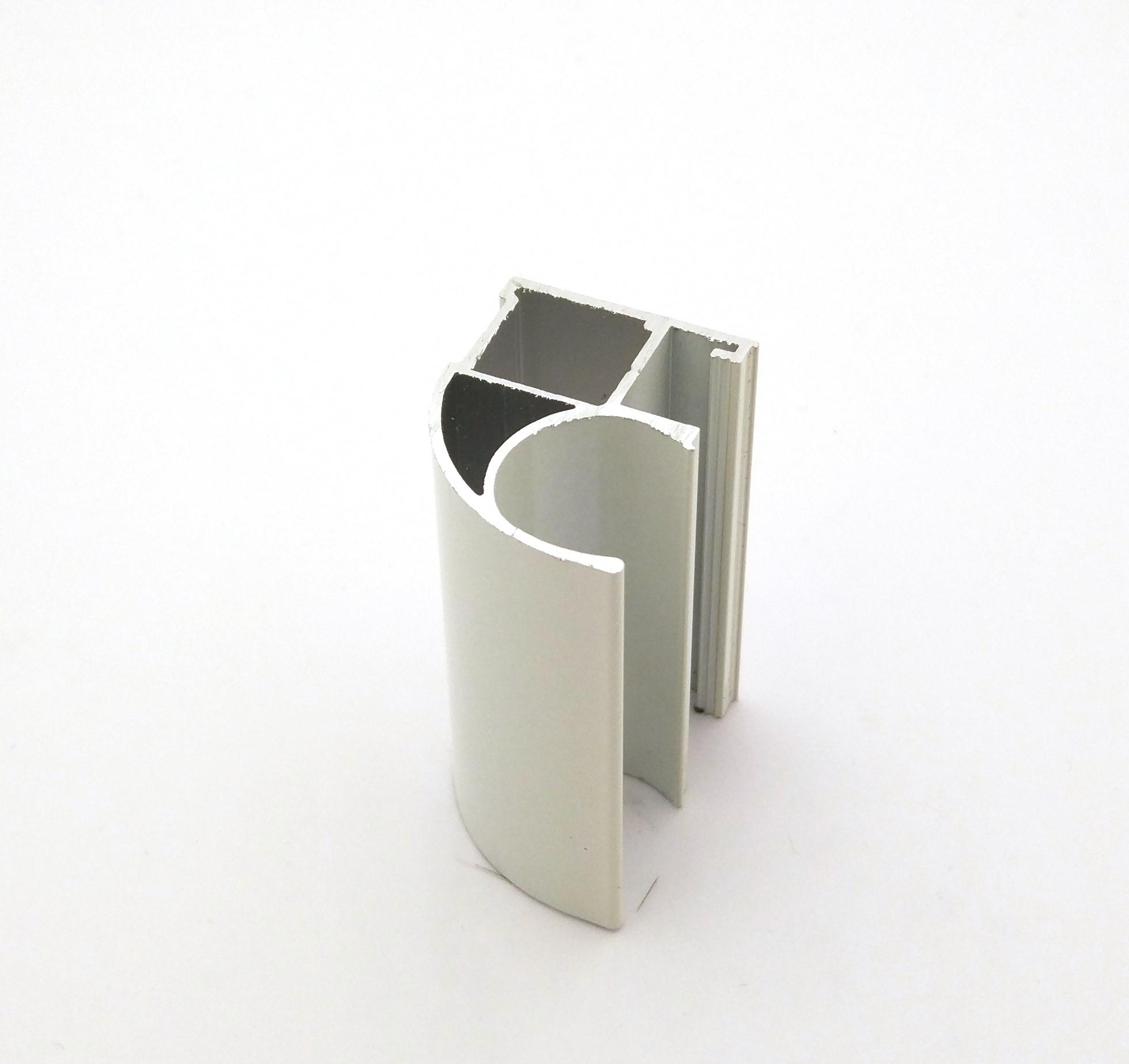 АФ Профиль вертикальный открытый MEDIUM, жемчуг, 5400мм