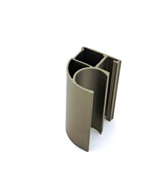 АФ Профиль вертикальный открытый MEDIUM, шампань, 5400мм