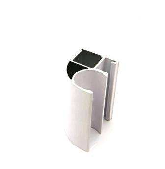 АФ Профиль вертикальный открытый MEDIUM, белый, 5400мм