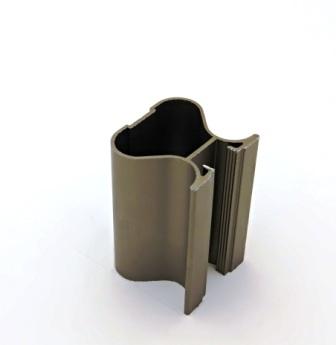 АФ Профиль вертикальный закрытый 419, шампань, 5400мм