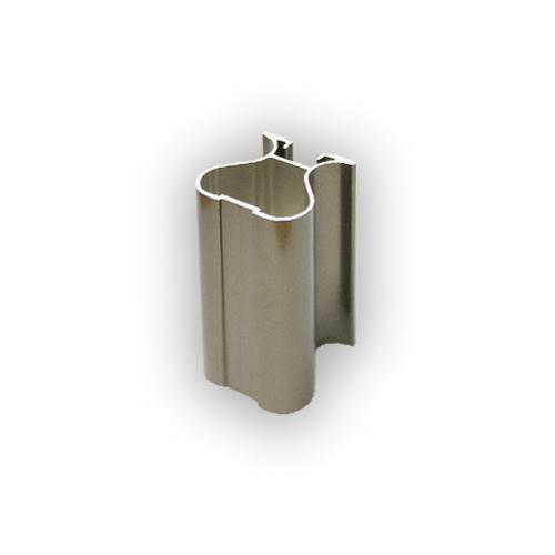 АФ Профиль вертикальный закрытый 419, BRUSH шампань, 5400мм