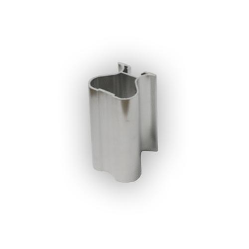 АФ Профиль вертикальный закрытый 419, BRUSH серебро, 5400мм