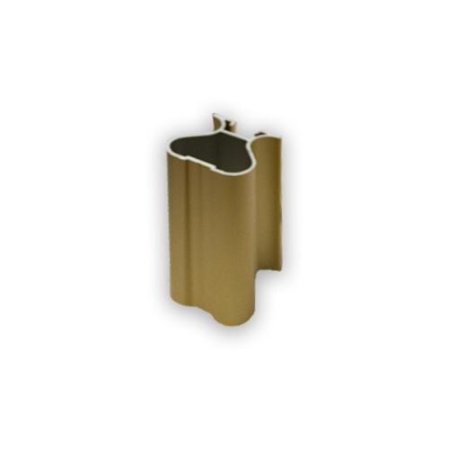 АФ Профиль вертикальный закрытый 419, золото белое, 5400мм