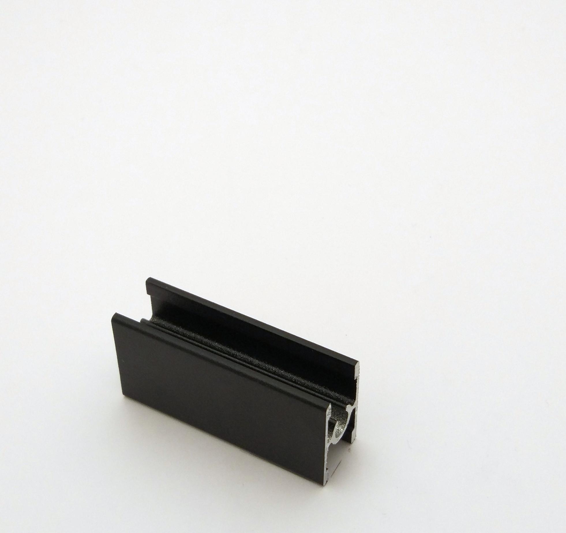 АФ Профиль соединительный под винт 229, черный матовый, 6000мм