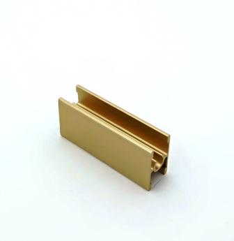 АФ Профиль соединительный под винт 229, золото белое, 6000мм