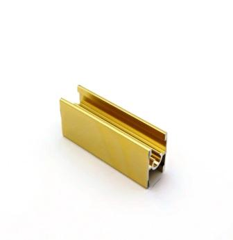 АФ Профиль соединительный под винт 229, BRUSH золото белое, 6000мм