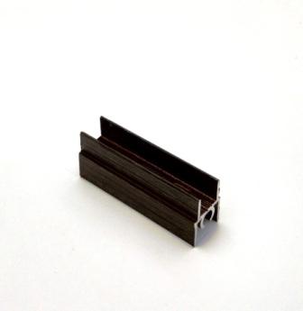 АФ Профиль горизонтальный верхний 196, венге матовый, 6000мм