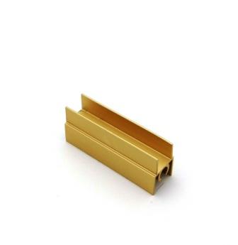 АФ Профиль горизонтальный верхний 196, золото белое, 6000мм