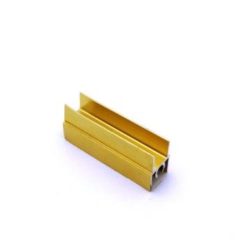 АФ Профиль горизонтальный верхний 196, BRUSH золото белое, 6000мм