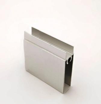 АФ Профиль горизонтальный нижний 377, серебро, 6000мм