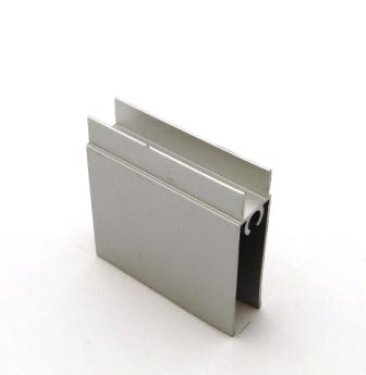 АФ Профиль горизонтальный нижний 377, BRUSH серебро, 6000мм