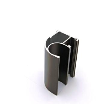 АФ Профиль вертикальный открытый LIGHT, бронза, 5400мм