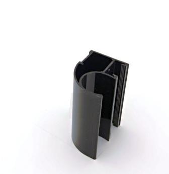 АФ Профиль вертикальный открытый LIGHT, венге глянец, 5400мм