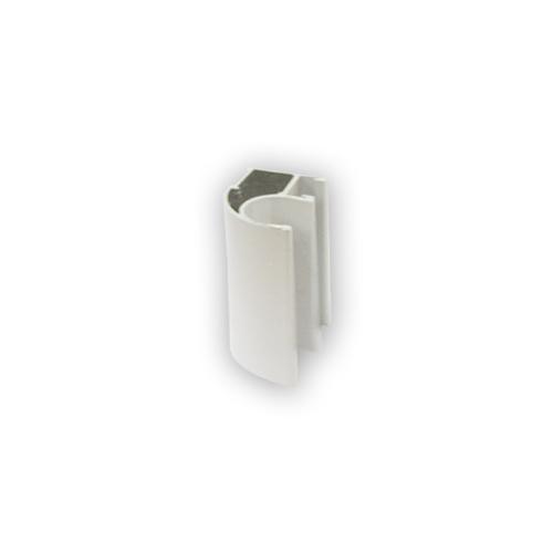 АФ Профиль вертикальный открытый LIGHT, белый, 5400мм