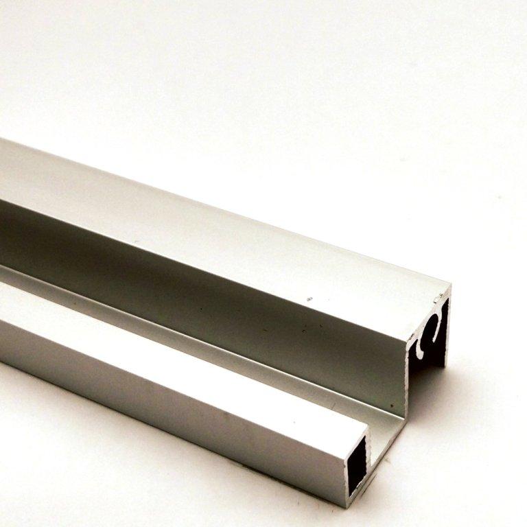 АФ Профиль горизонтальный верхний SLENDER, серебро, 6000мм