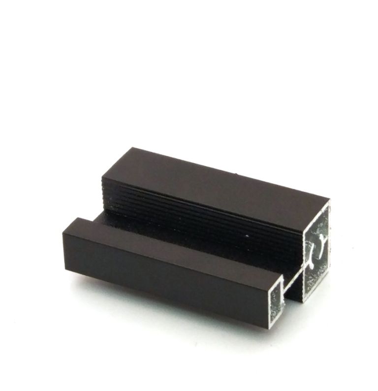 АФ Профиль соединительный SLENDER, черный матовый, 6000мм