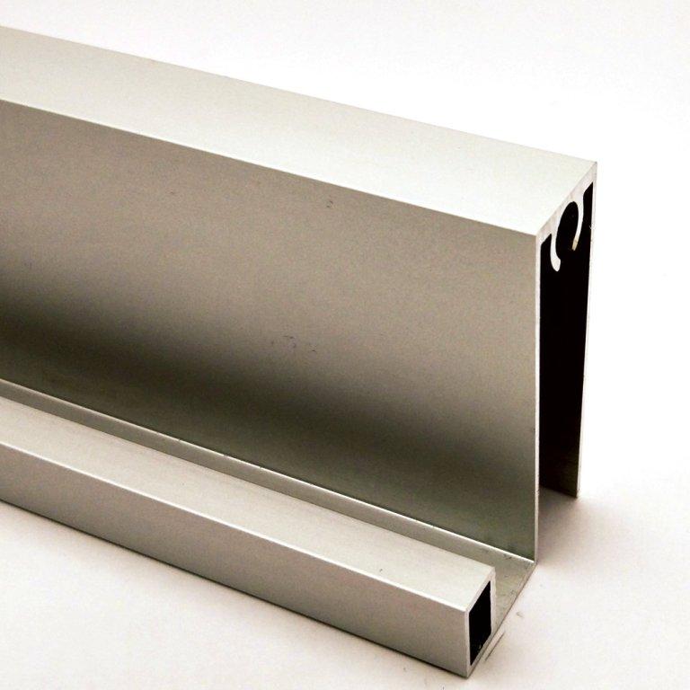 АФ Профиль горизонтальный нижний SLENDER, серебро, 6000мм