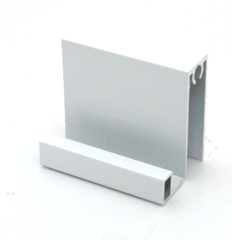 АФ Профиль горизонтальный нижний SLENDER, белый, 6000мм