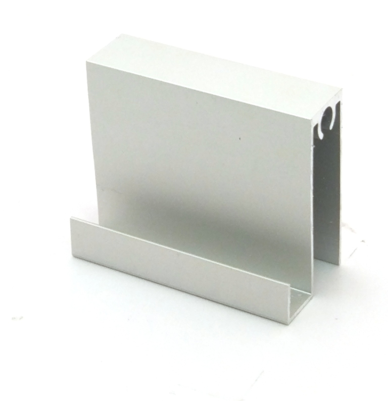 АФ Профиль горизонтальный нижний MAGIC, BRUSH серебро, 6000мм