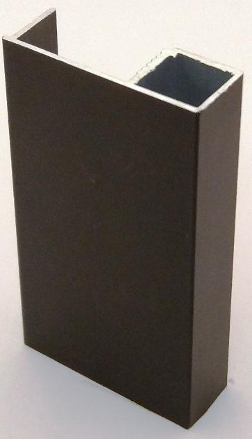 АФ Профиль вертикальный Simple-16, бронза, 5400мм