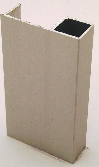 АФ Профиль вертикальный Simple-16, серебро, 5400мм