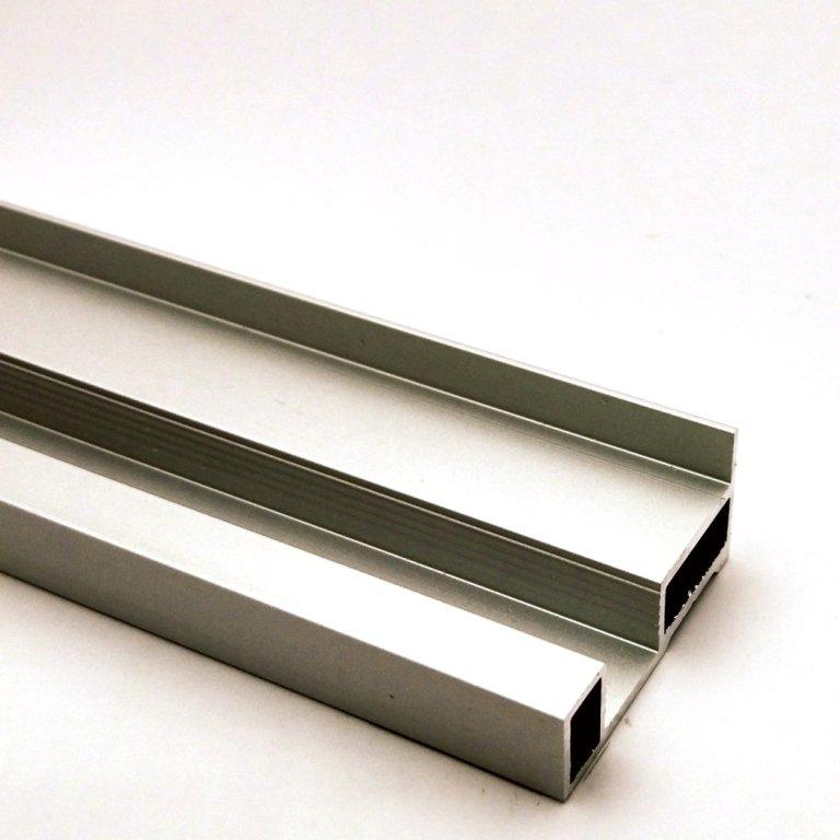 АФ Профиль вертикальный SLENDER, серебро, 5400мм
