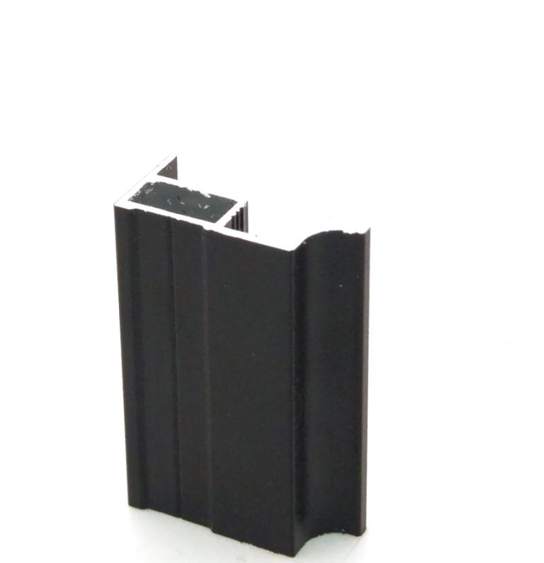 АФ Профиль вертикальный MAGIC, черный матовый, 5400мм