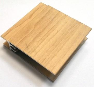 АФ Профиль горизонтальный нижний 1,2/53, дуб молочный, 6000мм
