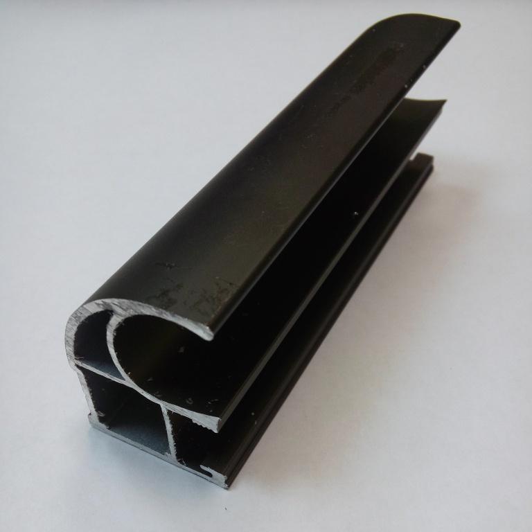 АФ Профиль вертикальный открытый 1,2мм HEAVY, бронза, 5400мм