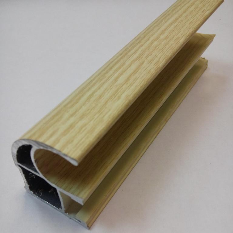 АФ Профиль вертикальный открытый 1,2мм HEAVY, клен, 5600мм