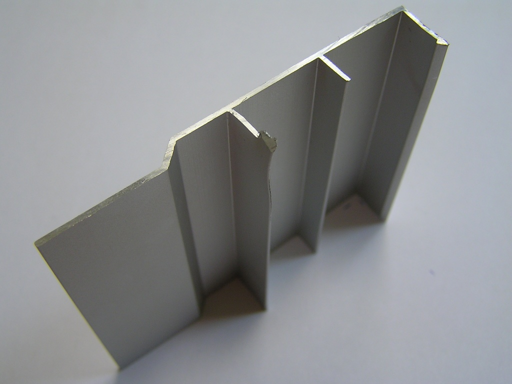 AIR  Декоративная накладка прямая-потолок, серебро, 6000мм