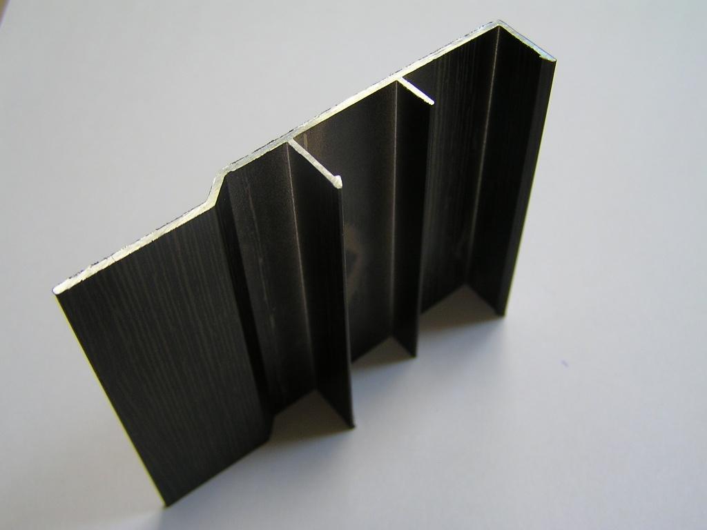 AIR  Декоративная накладка прямая-потолок, венге матовый, 6000мм