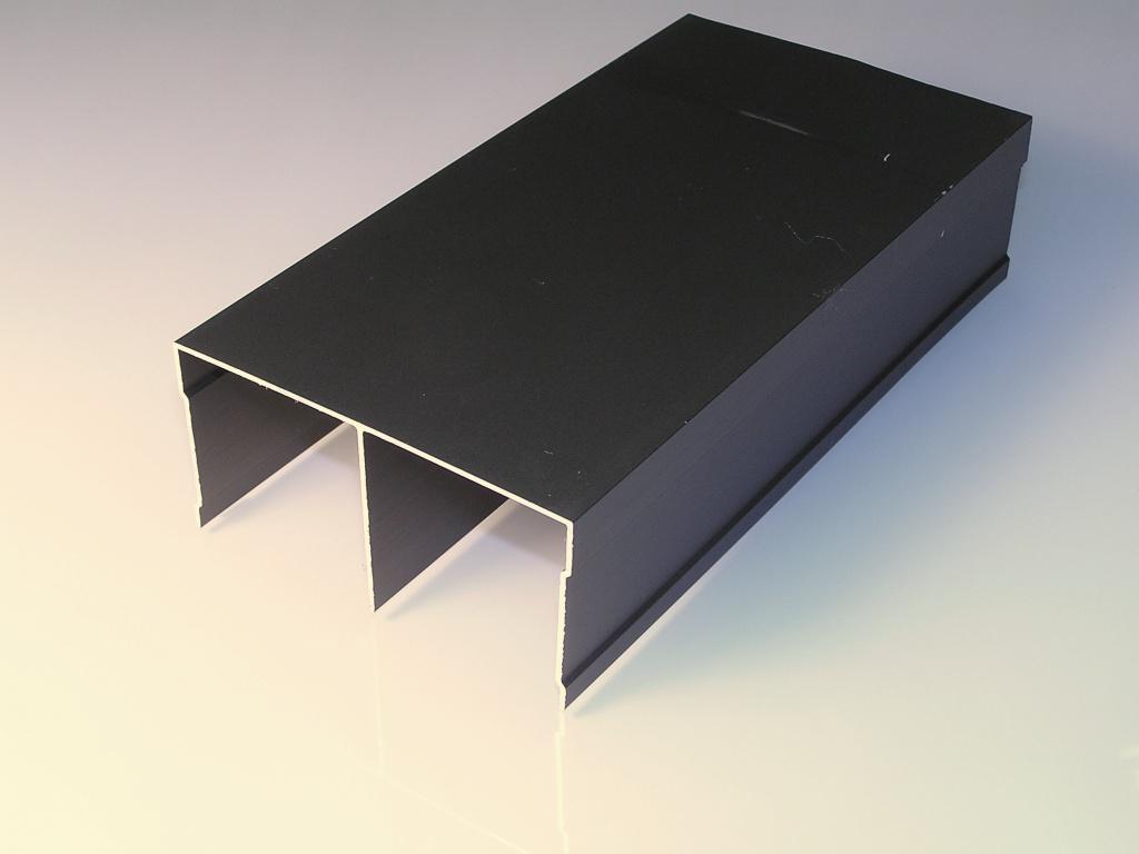 АФ Рельс двойной верхний, венге глянец, 6000мм