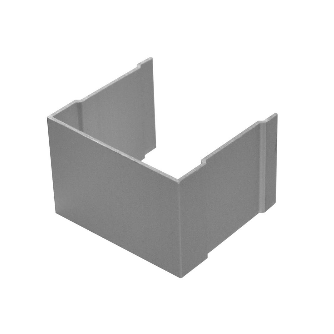 АФ Рельс одинарный верхний, серебро, 6000мм