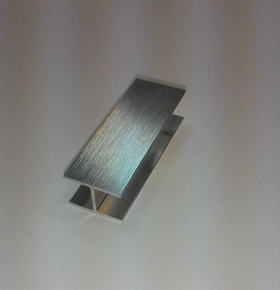 АФ Профиль соединительный, BRUSH серебро, 6000мм